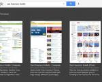 Captura de pantalla Google Search para Windows 8